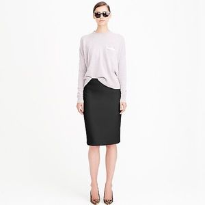 """Classic Black """"The Pencil Skirt"""" from J. Crew"""